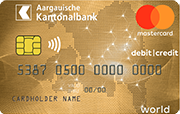 Carte AKB Mastercard Flex-Gold