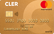 Carta World Mastercard Gold Bank Cler