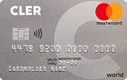 Carte World Mastercard Silver Bank Cler