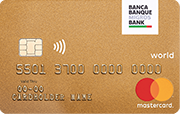 Carte World Mastercard Gold Migros Bank