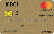 Carte Mastercard Flex Or BCJ