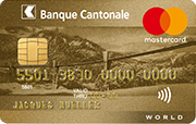 Carte Mastercard Or/Gold BCF/FKB