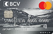Carte Silver World Mastercard BCV
