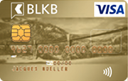 Carta Visa Gold BLKB