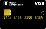 Carta Visa Gold BKB