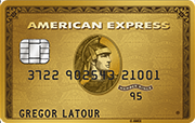 Carte Credit Suisse Amex Gold