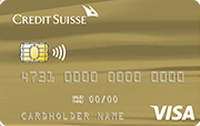 Carta Credit Suisse Visa Gold