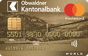 Carta World Mastercard Gold OWKB