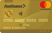 Carte PostFinance Mastercard Gold