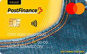 Carta PostFinance Mastercard Value