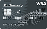 Carte PostFinance Visa Platinum Card