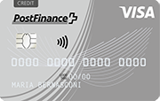 Carta PostFinance Visa Classic Card