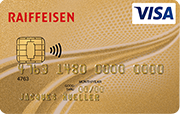 Carta Visa Card Gold Raiffeisen