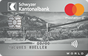 Carte World Mastercard Silber SZKB