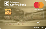 Carta World Mastercard Gold SZKB