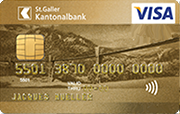 Carte Visa Gold SGKB