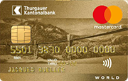 Carte World Mastercard Gold TKB