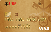 Carte Gold Credit Card Visa UBS