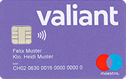 Carte Maestro Valiant