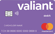 Carte Mastercard Debit Valiant