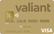 Carta Visa Gold Valiant