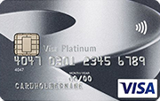 Carta Visa Platinum Bank Cler