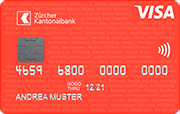 Carte Visa Basic ZKB