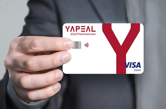Neobank Yapeal Swiss - Visa card